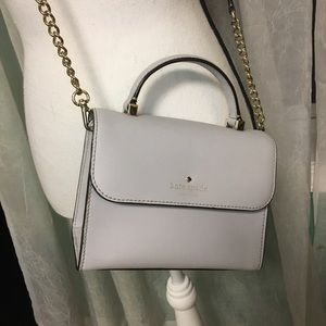 Kate Spade Gray Crossbody Purse